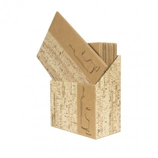 Design A4 Cork - BOX 10 cards wines