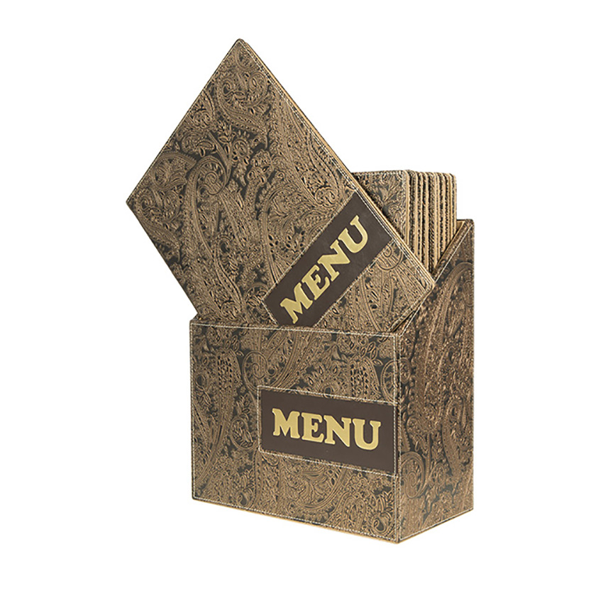 Design A4 Paisley - BOX 10 protects-menus