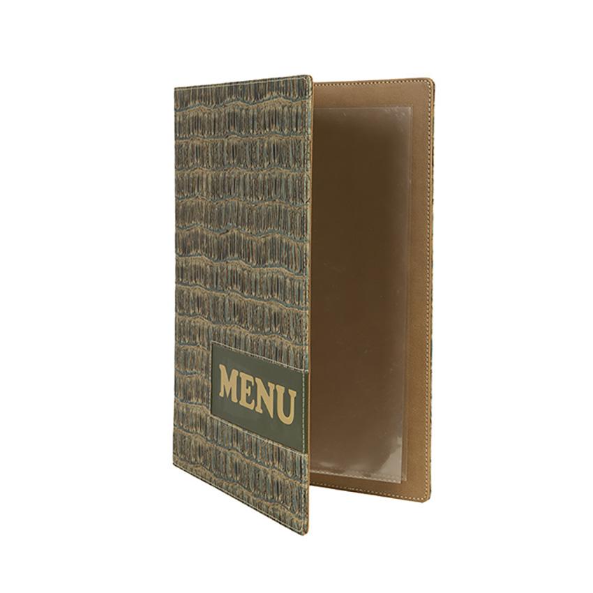 Protège-menus A4 Design Reptile