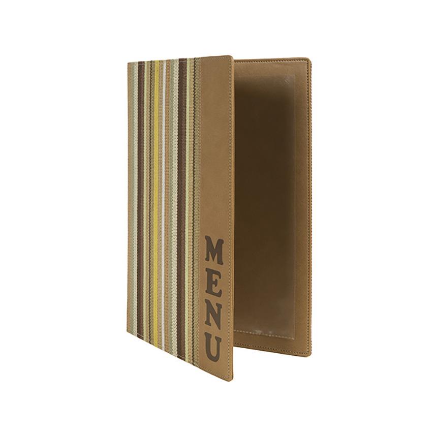Beschermt-menus A4 ontwerp Vogue