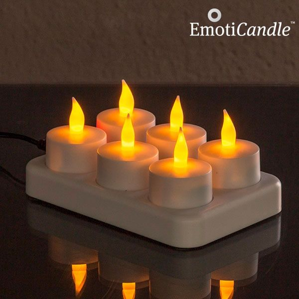 Bougies a led rechargeable gamme initiale - Bougie led rechargeable ...