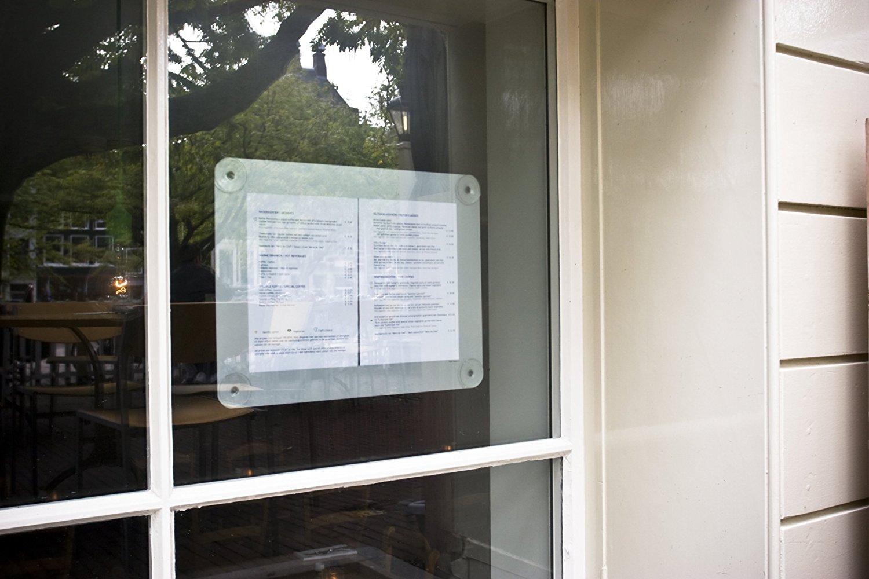 Cadre de fenêtre à ventouses