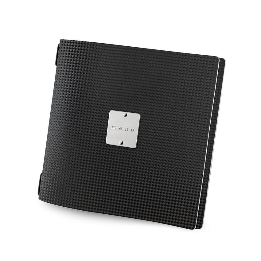 Protège menu QUADRATO MenuMenu noir aspect carbon