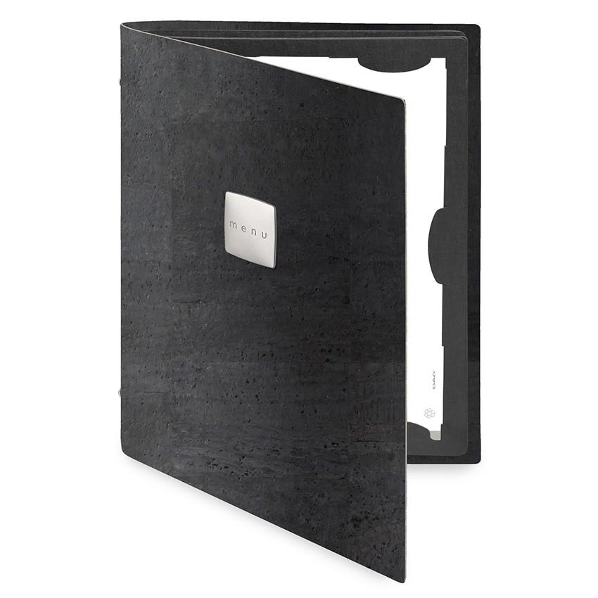Protège menu FLAP Sughero noir