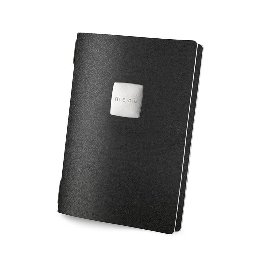 Protège menu GOLFO MenuMenu noir aspect lisse