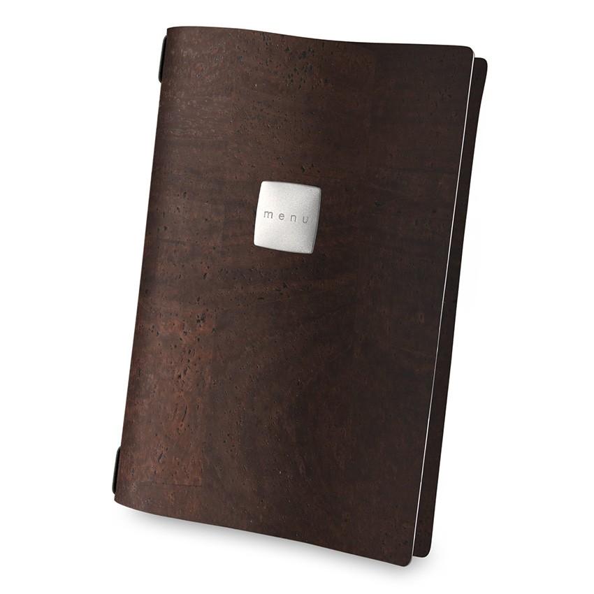 Protège menu A4 Sughero marron