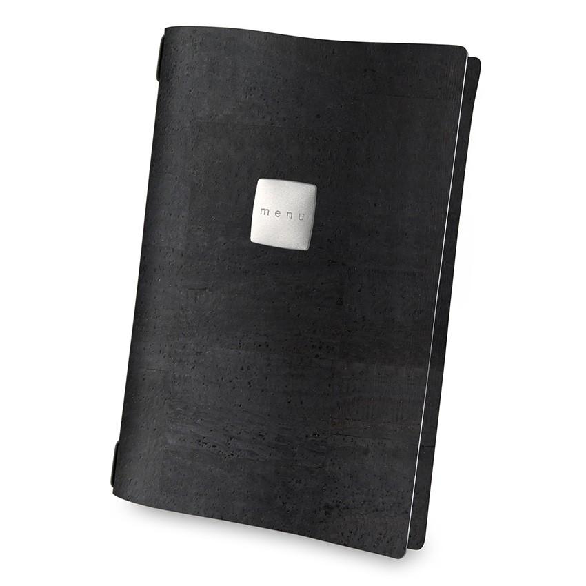 Protège menu A4 Sughero noir