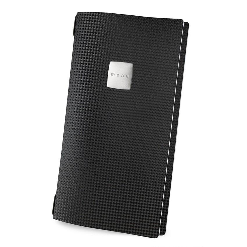 Protège menu 4RE MenuMenu noir aspect carbon
