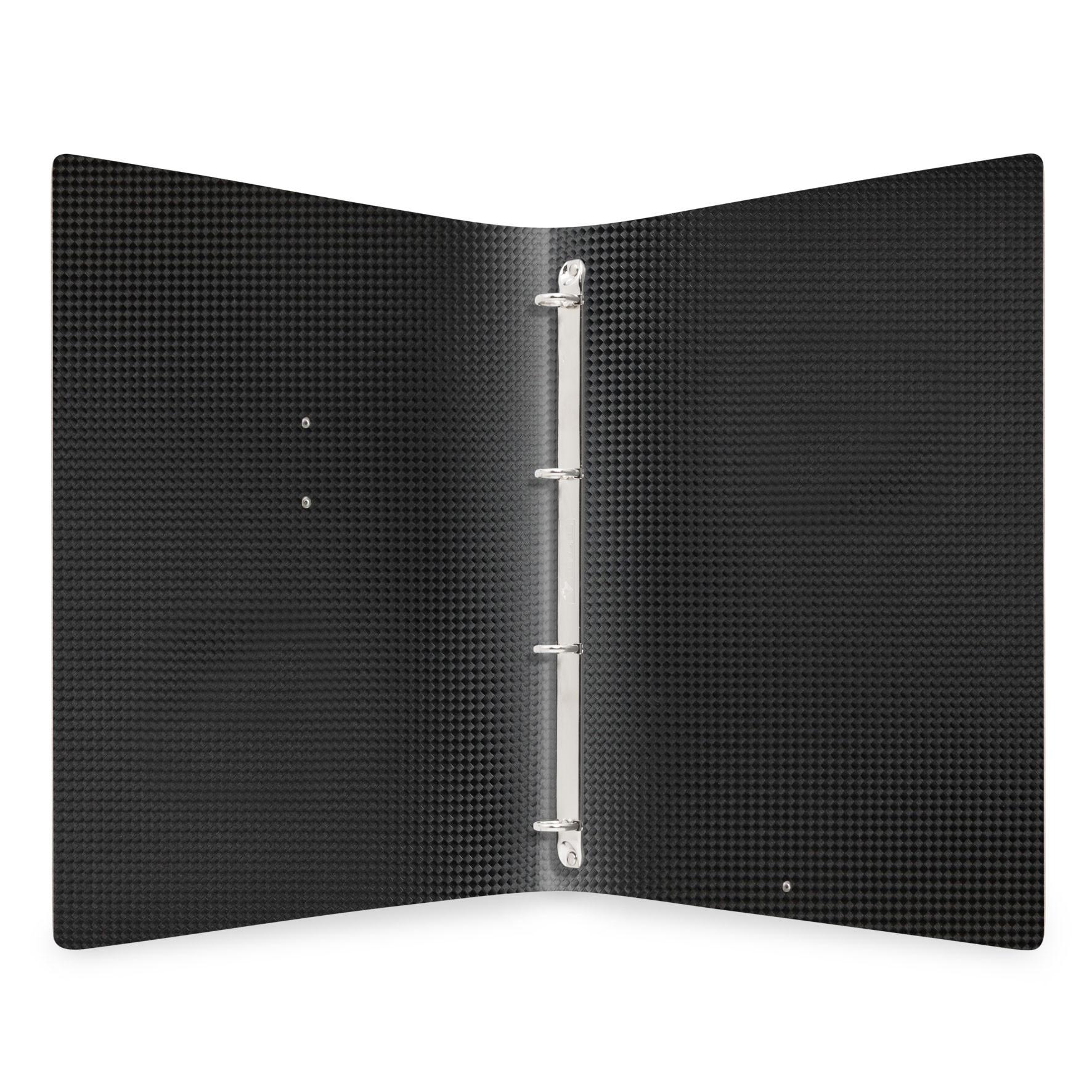 Protège menu MEC MenuMenu noir aspect carbon