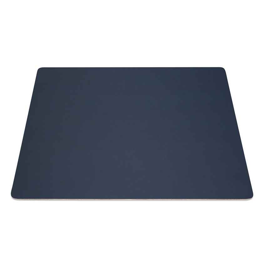 9 Set de table rectangle Fashion bleu aspect lisse