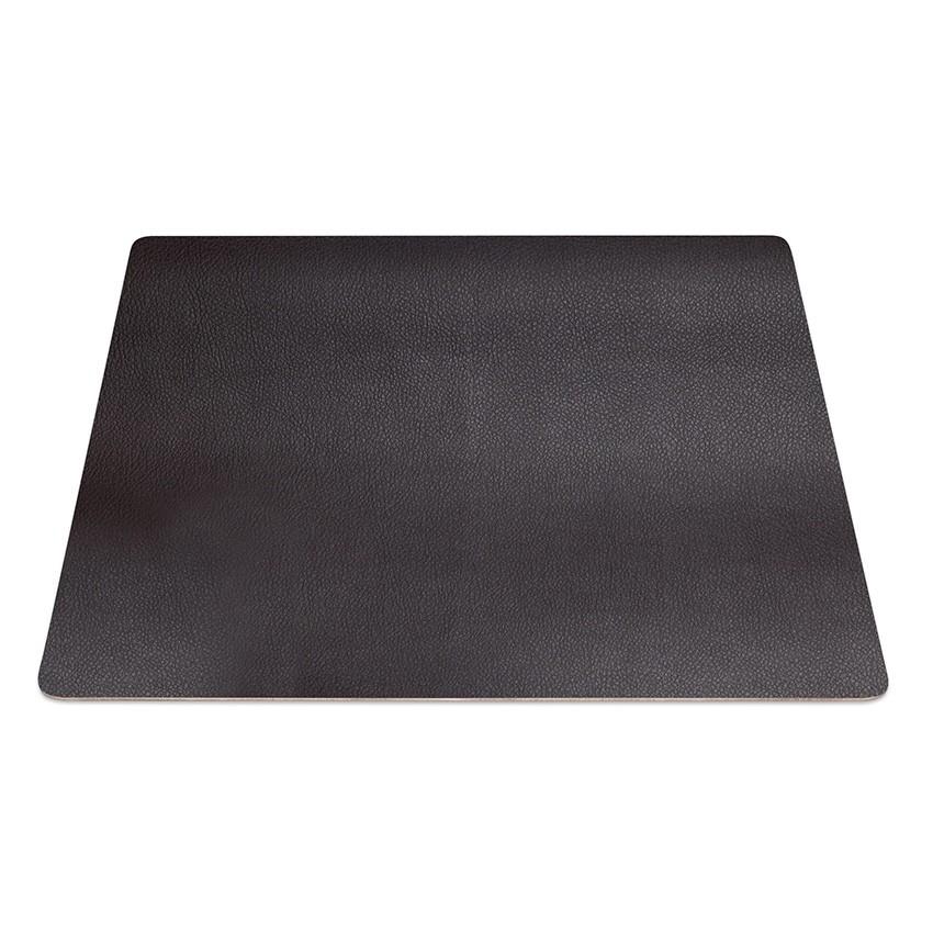 9 Set de table rectangle PVC cacao aspect lisse