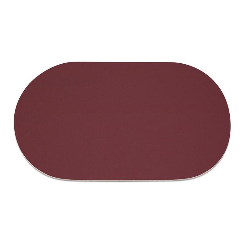 Set de table original ovale en cuir grand format pour chr Set de table photo