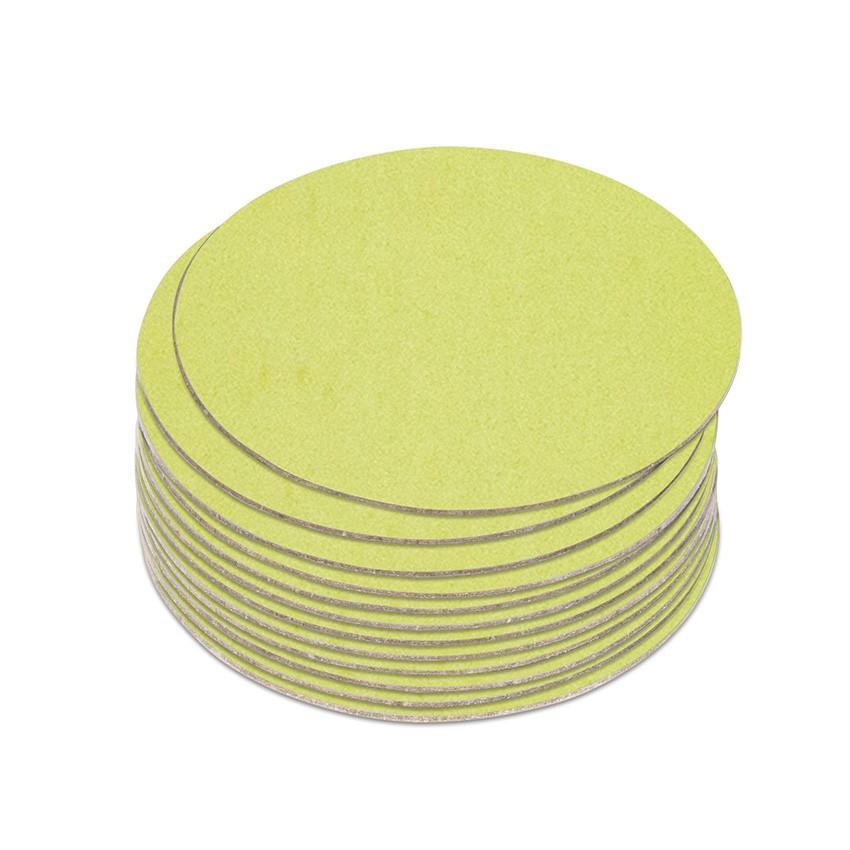 10 dessous de verres Fashion citron vert aspect lisse