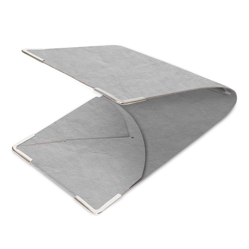 Porte commande Ecologique gris aspect fibre lisse