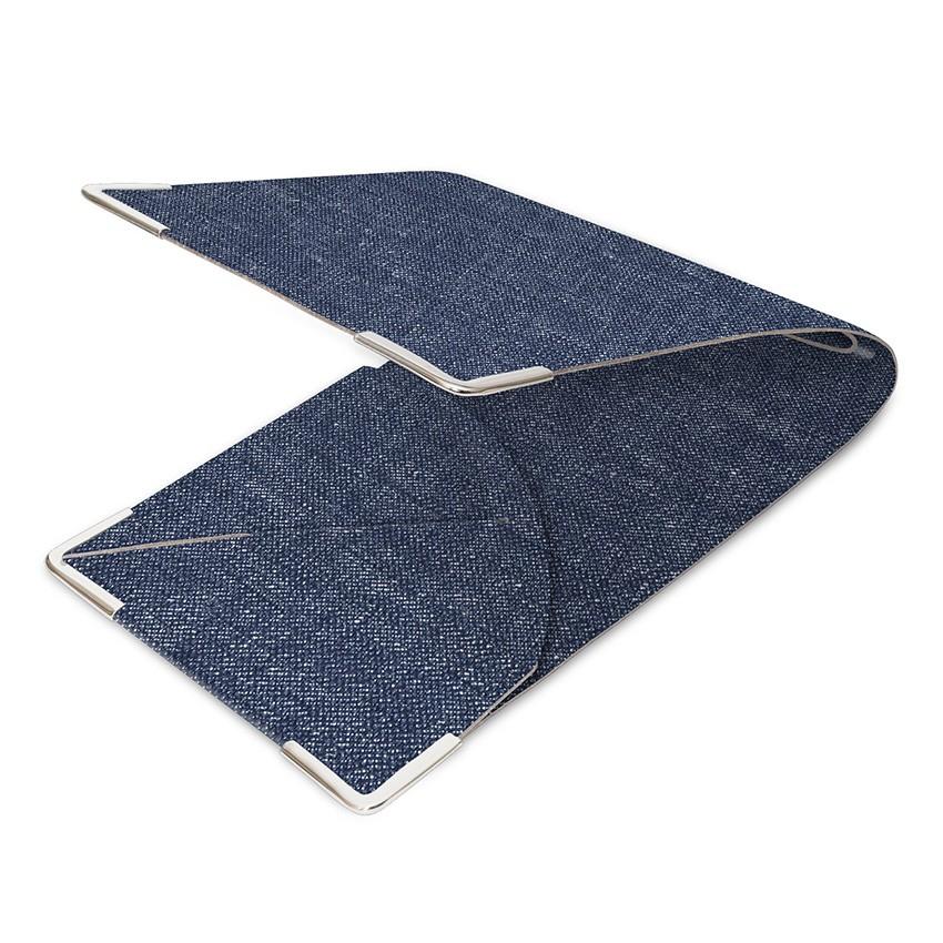 Porte commande en PVC bleu aspect jean's