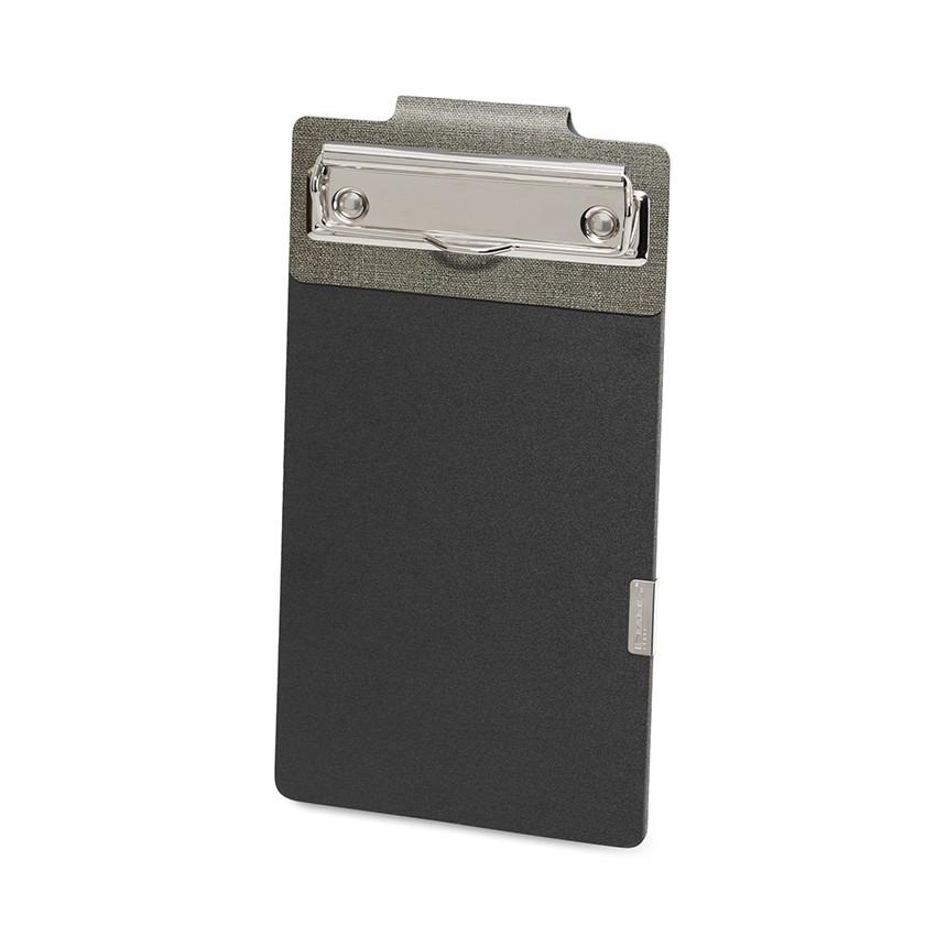 Porte commande EASY en PVC gris aspect jute