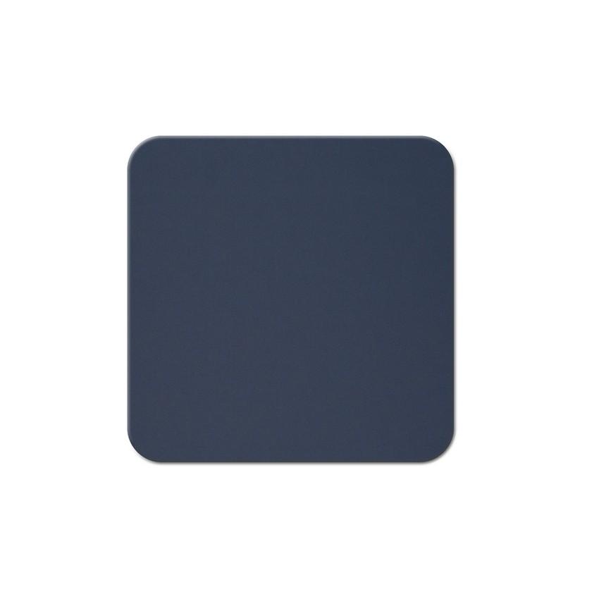 10 dessous de verres Fashion bleu aspect lisse