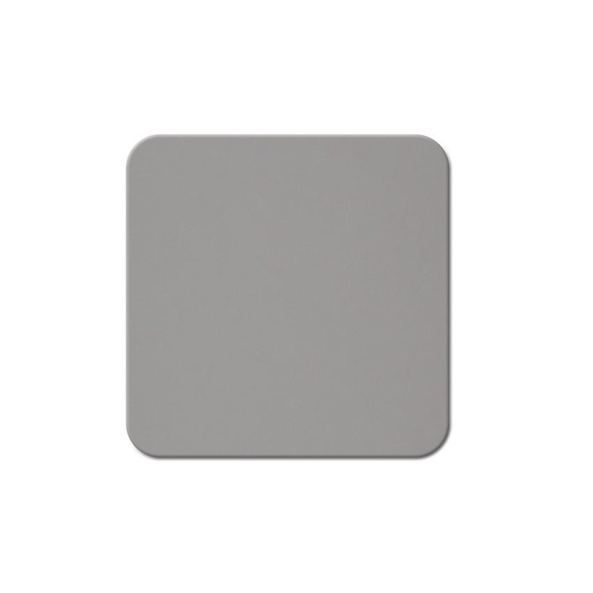 10 dessous de verres Fashion gris aspect lisse