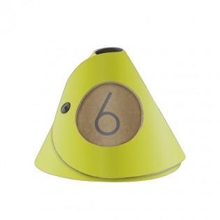 10 cônes de table Fashion citron vert aspect lisse