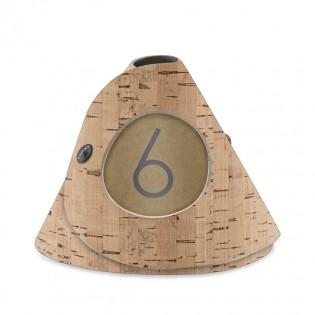 10 cônes de table en liège naturel