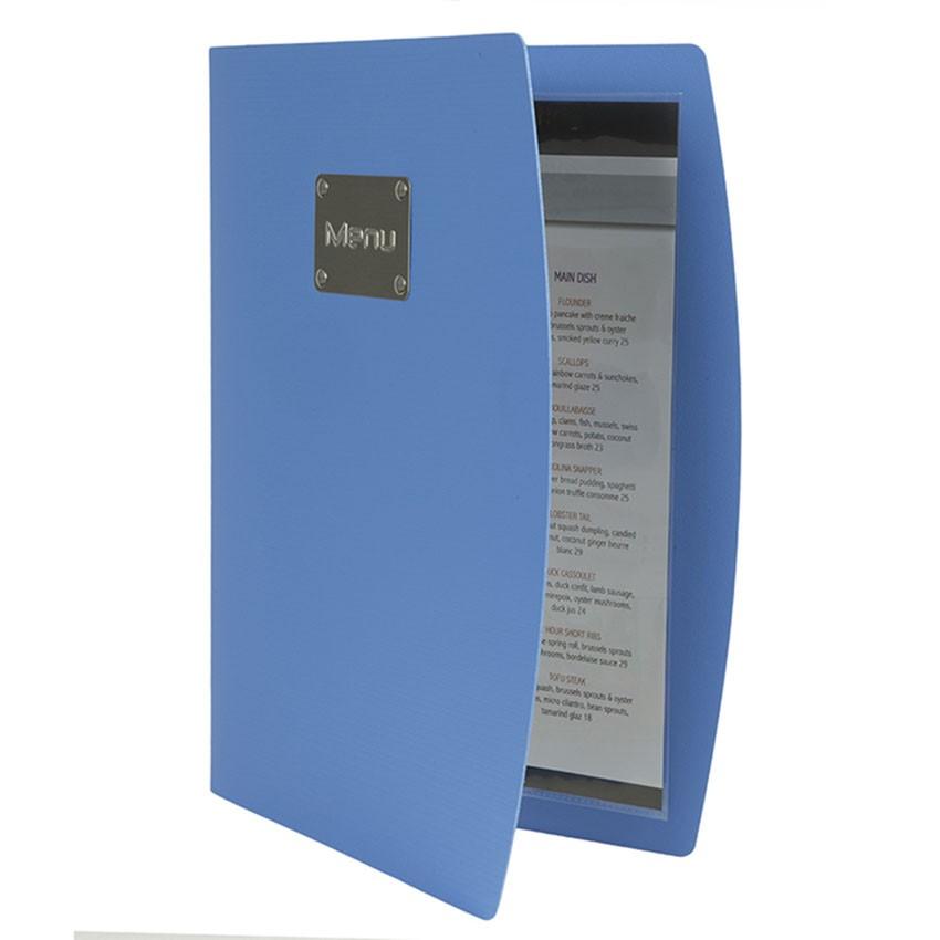 Protège-menus Rio bleu