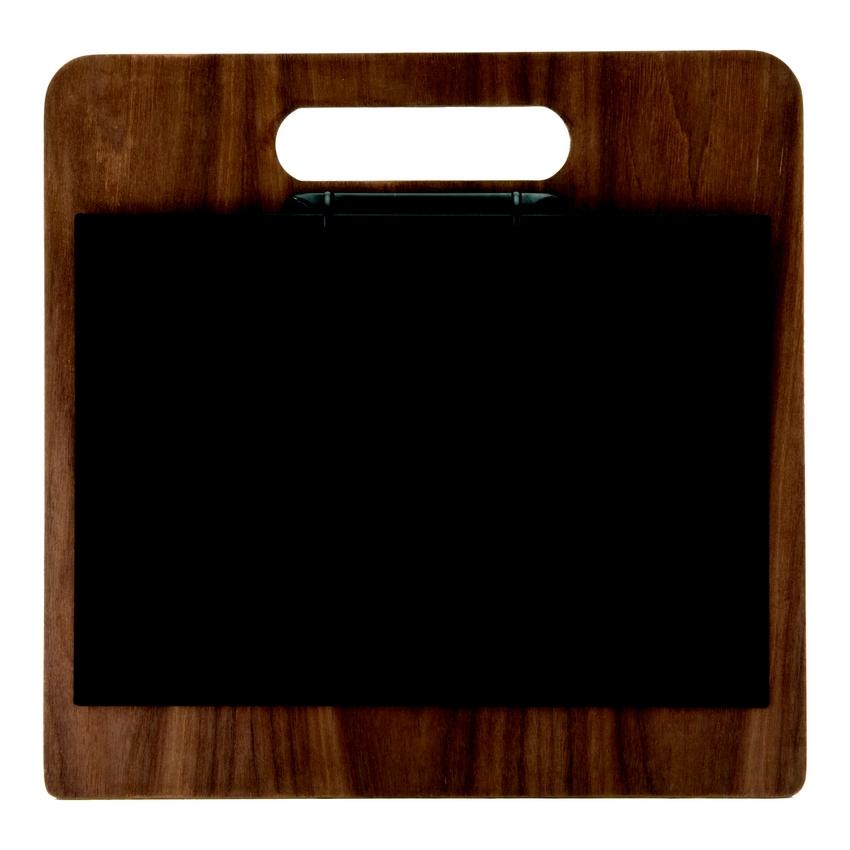 Porte menu classeur A4 en noyer