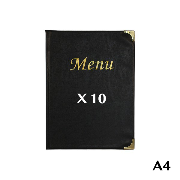 Protects A4 black Basic menus