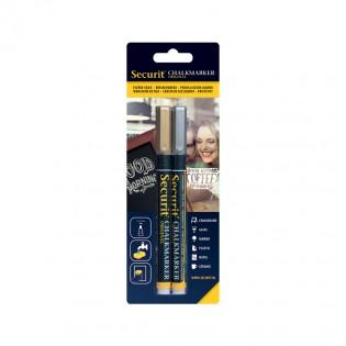 Feutre-craie 1-2 mm par 2