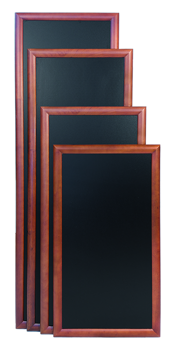 Pizarra pared largo wenge