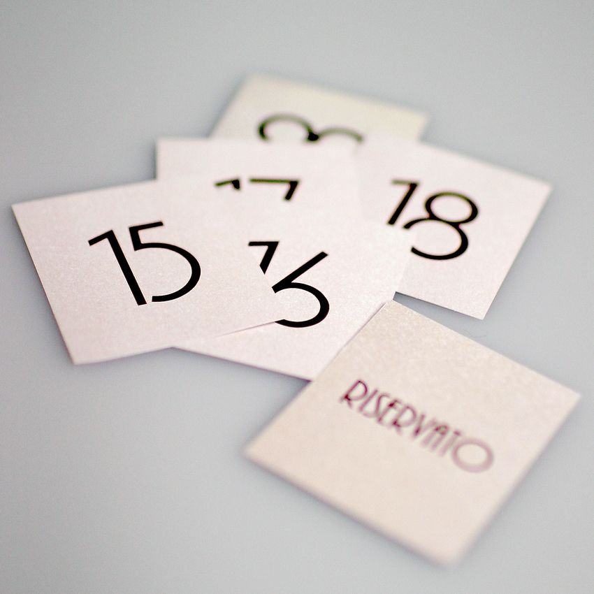 10 Numéros de table