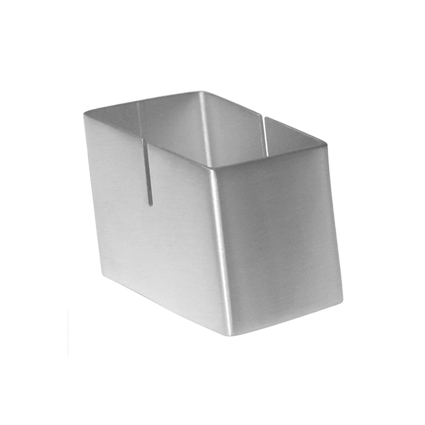 Porte-numéro cube Inox pour table d'hôtel restaurant café