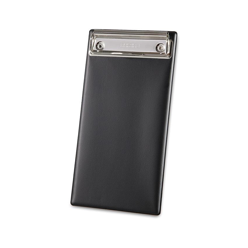 Porte addition Clipboard noir en PVC gamme Risto