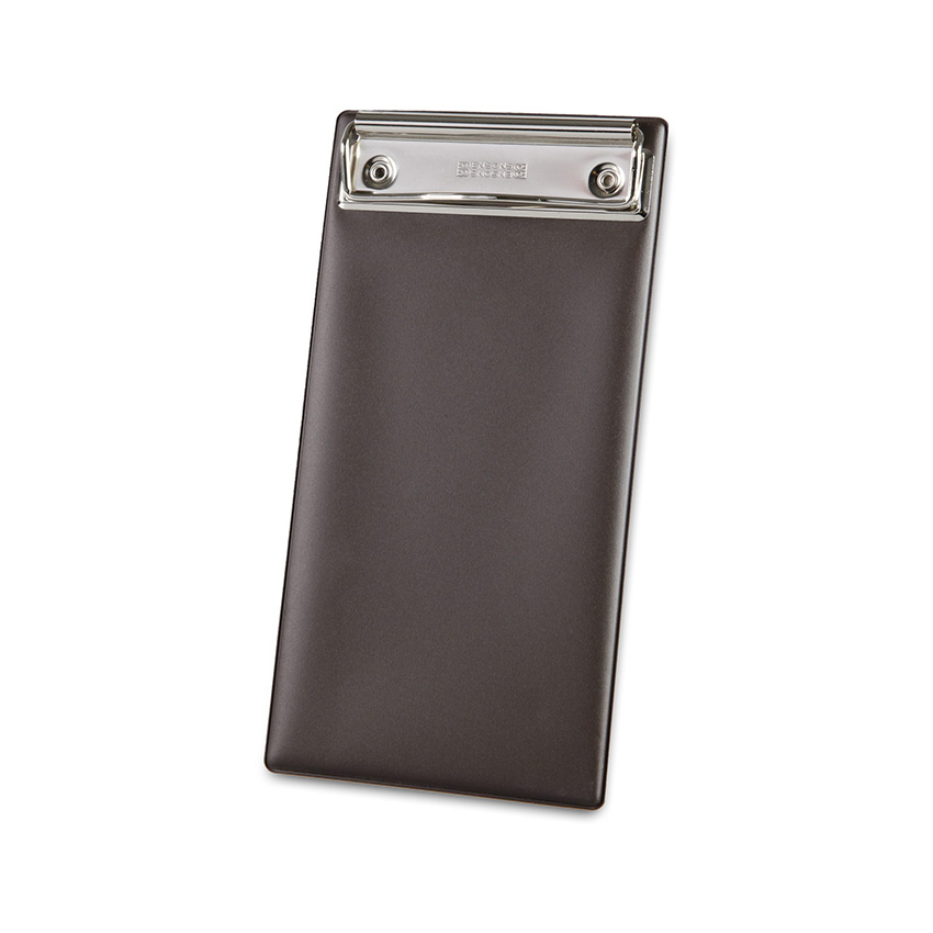 Porte-addition Clipboard marron en PVC gamme Risto