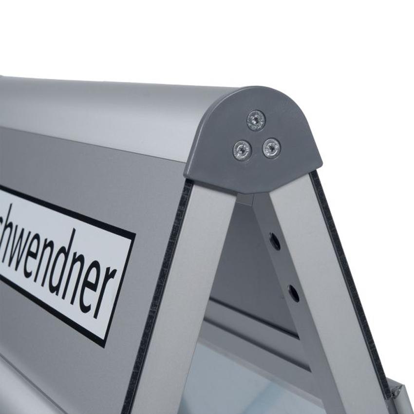 Chevalet trottoir - Porte affiche format B1 avec logo personnalisable