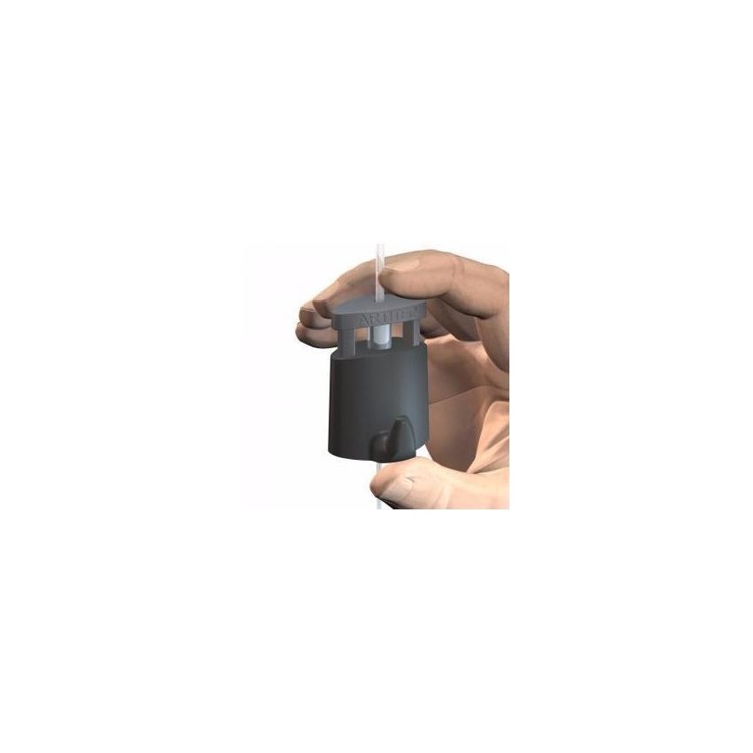 Crochet Micro Grip autobloquant pour câble Ø 2 mm