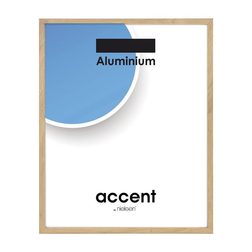 Cadre Nielsen Duo - cadre aluminium plaquage bois chêne