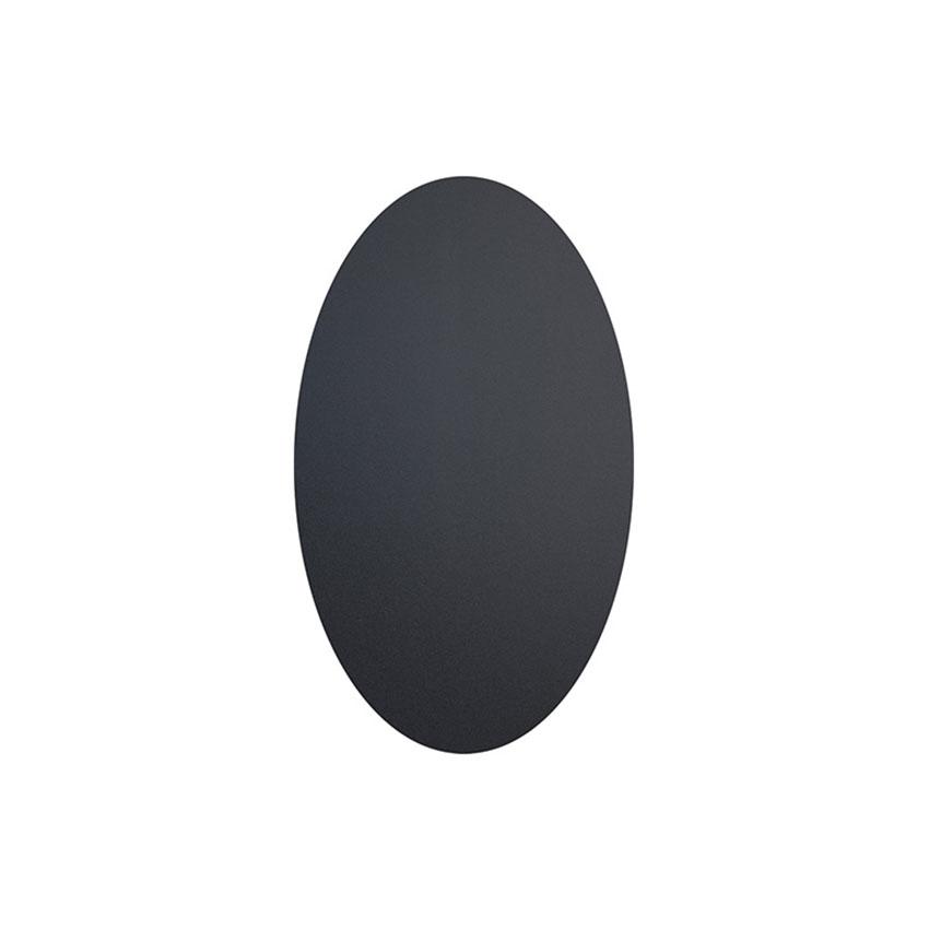 Lot de 8 étiquettes ardoises autocollantes - Forme ovale