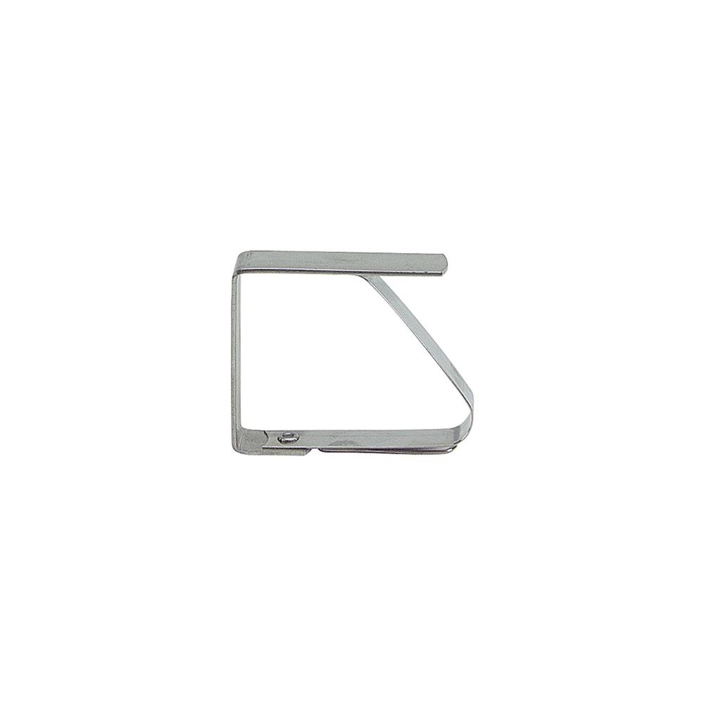 Lot de 4 clips / pinces pour nappe de table en Inox