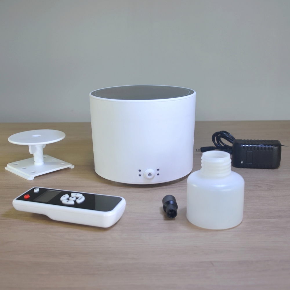 Diffuseur professionnel d'huiles essentielles programmable avec télécommande - Surface 300 m3