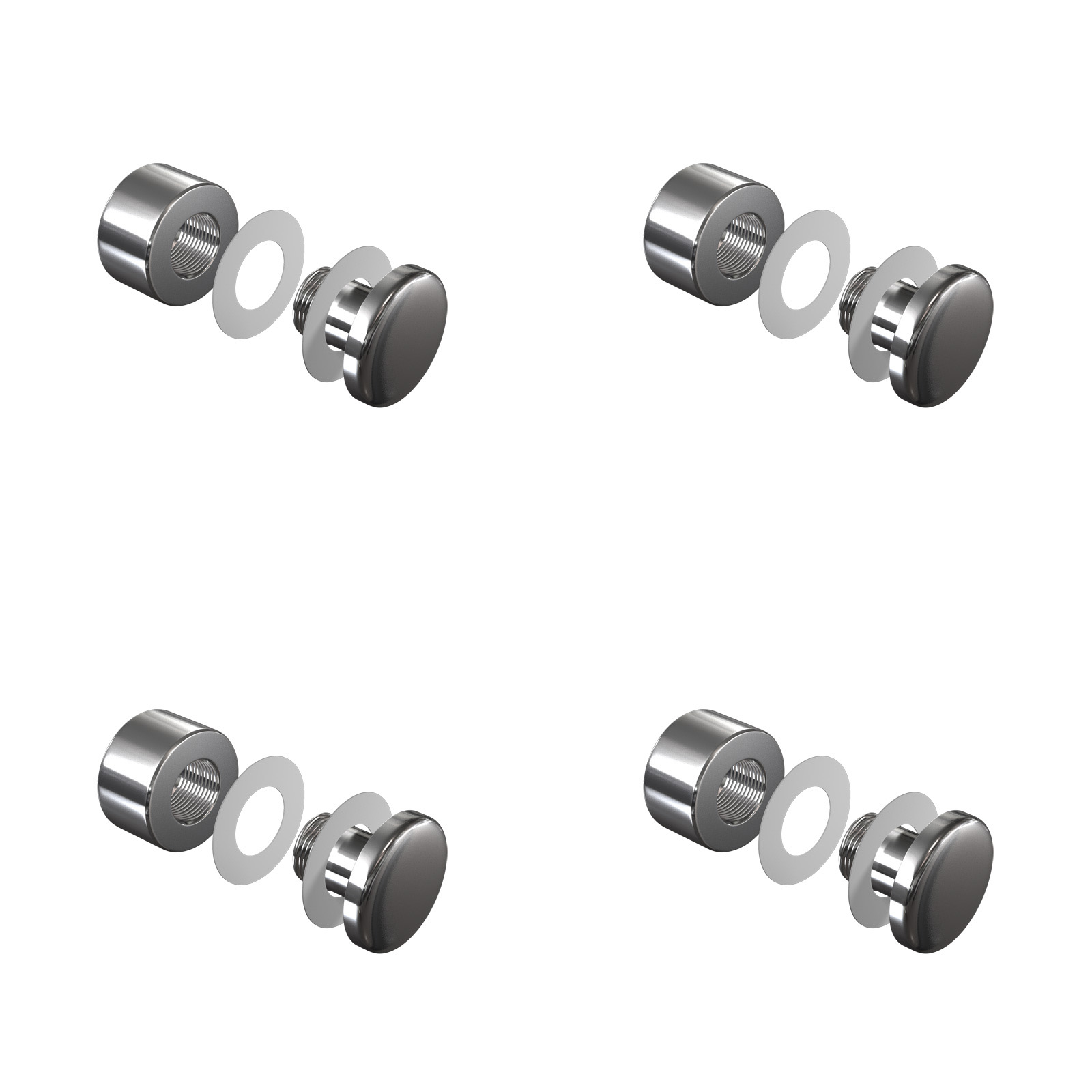 Screw wall mounting FIXV4