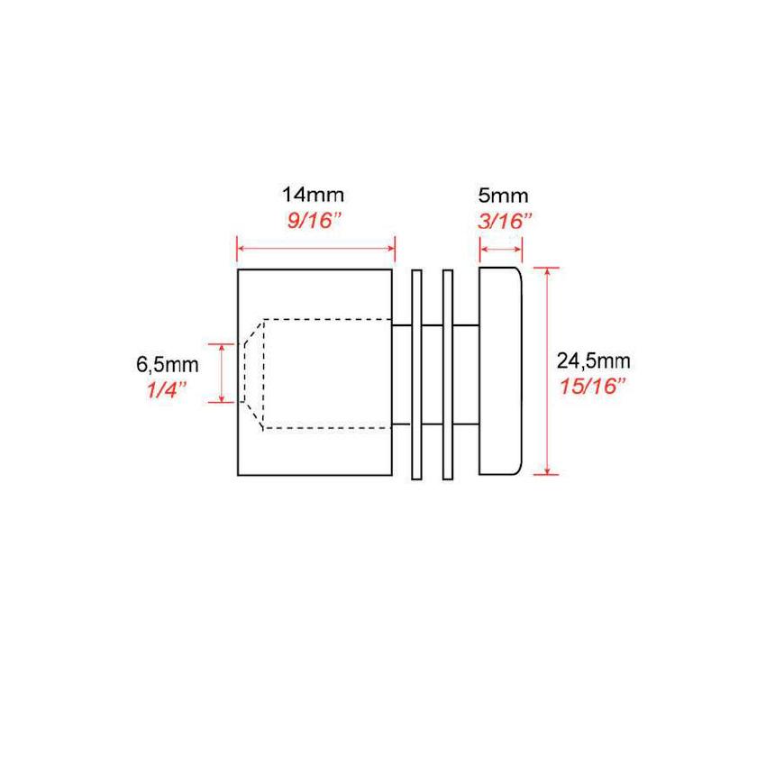 Montaje FIXV4 de la pared del tornillo