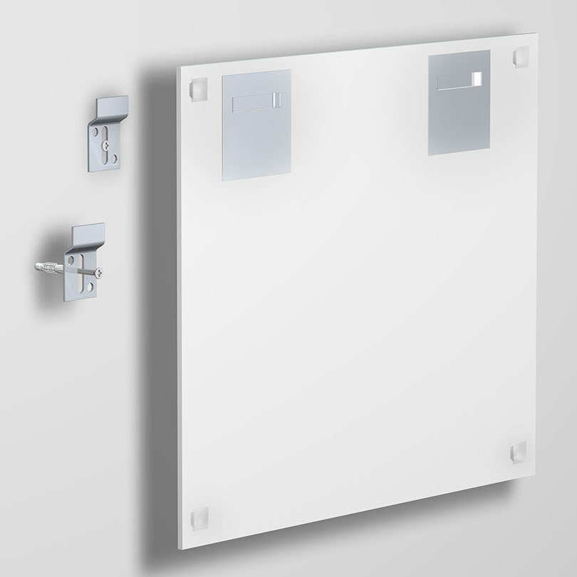Kit complet Miroir/dibond