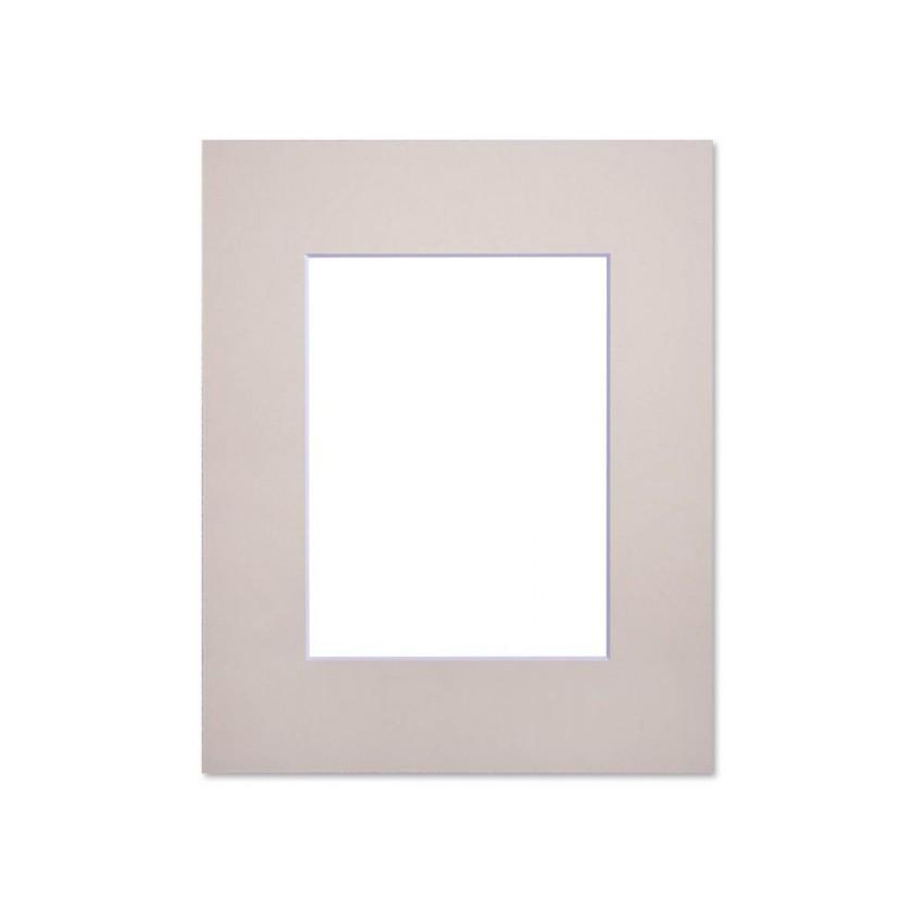 Passe partout standard beige Nielsen - Accessoires cadres et encadrement photo - Cadre 24 x 30 cm - Ouverture 14 x 19 cm