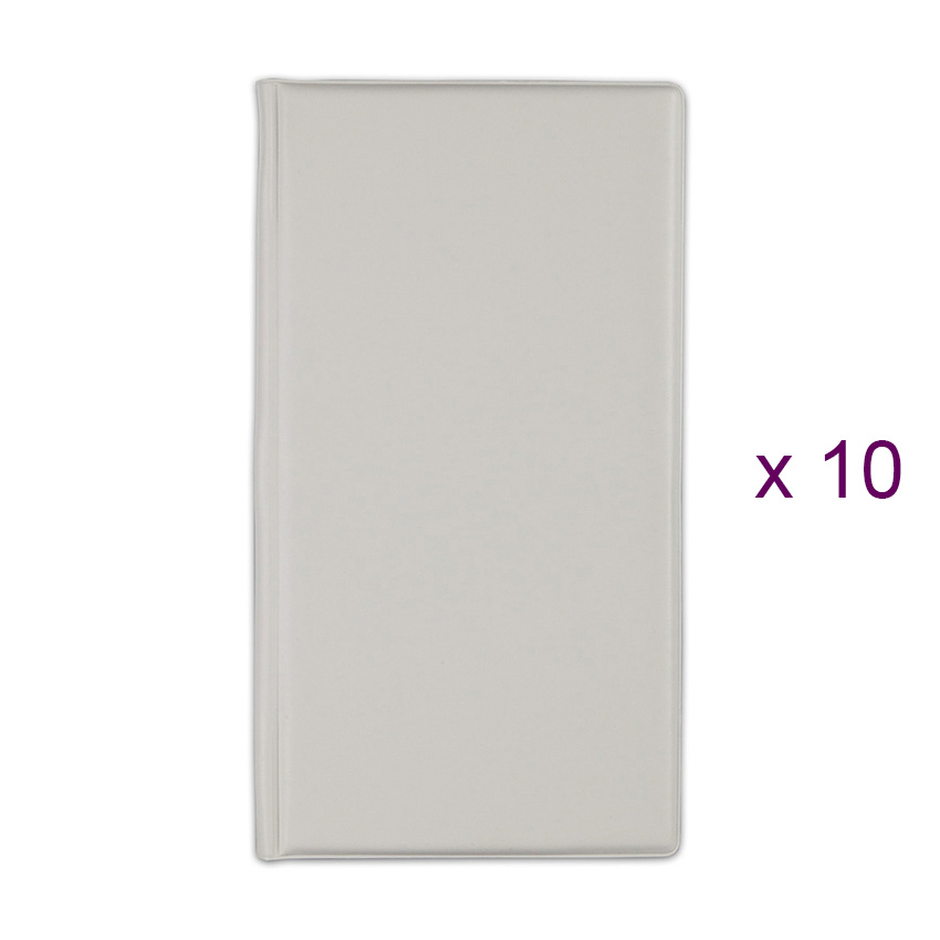 Lot de 10 Porte-additions RISTO beige