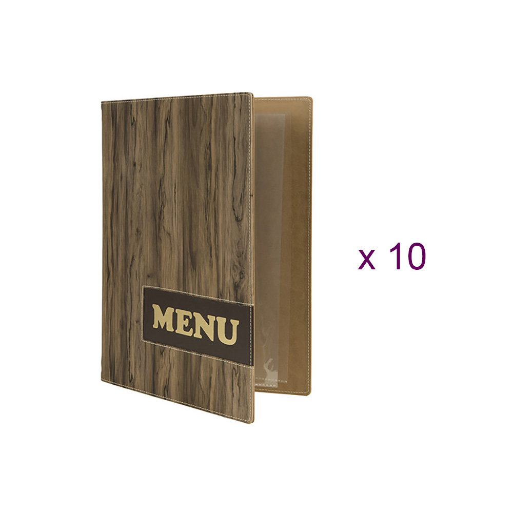 Protects-menus A4 Design Wood