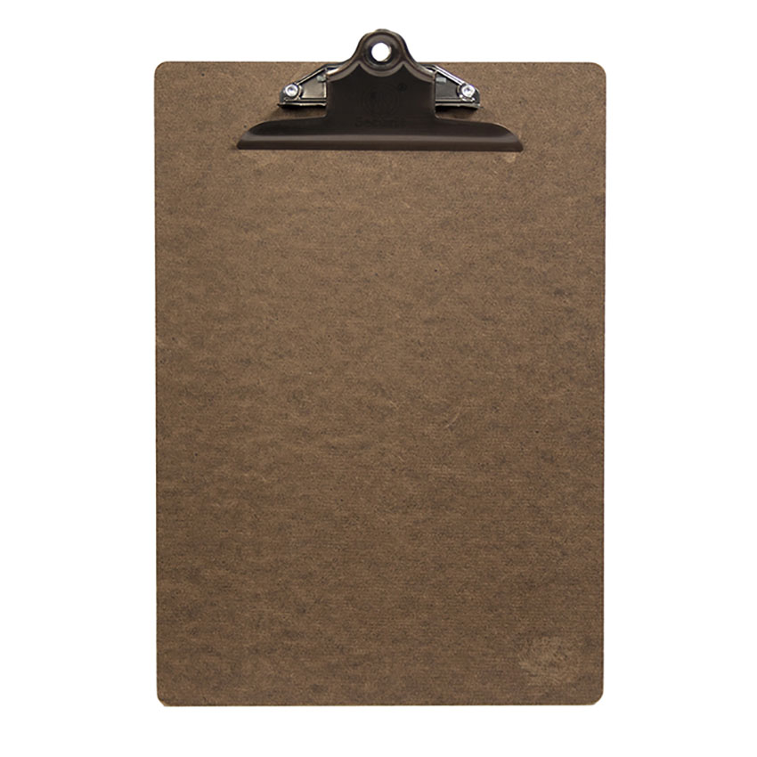 Clip board A4 marron
