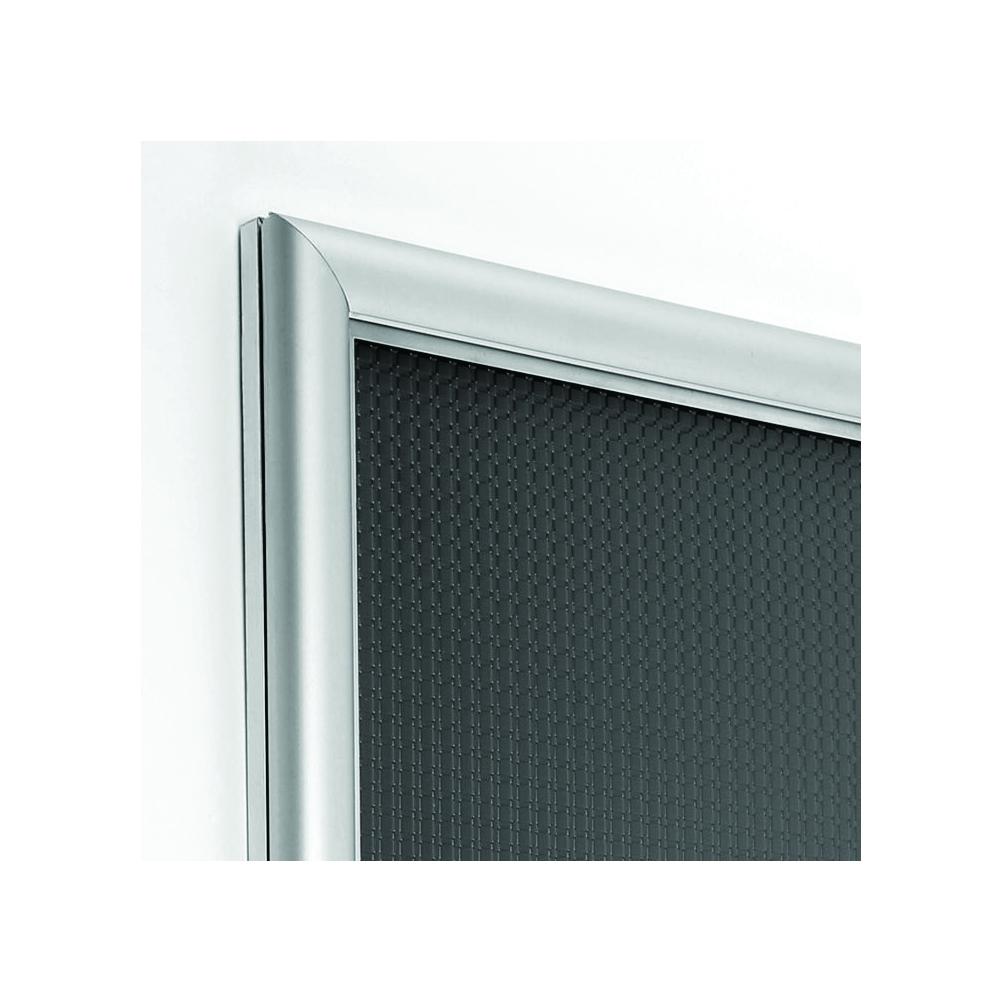 Cadre ouverture frontale Snap Frame Classic profil alu 15 mm - Affichage mural - Cadre signalétique