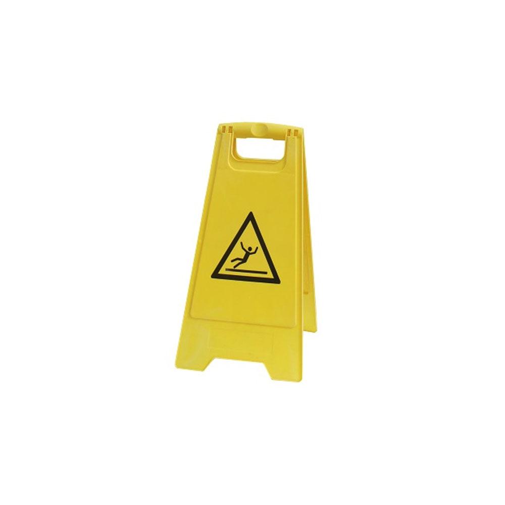 Panneau de signalisation sol glissant - Chevalet jaune signalisation sol glissant