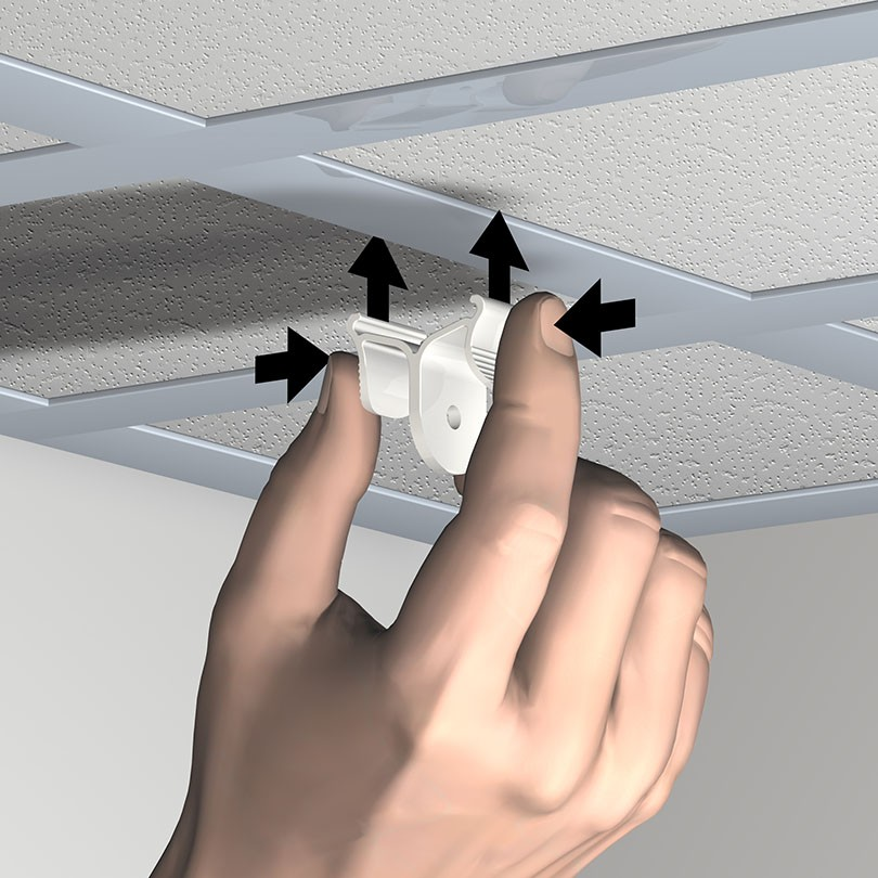 Kit Ceiling Clamper