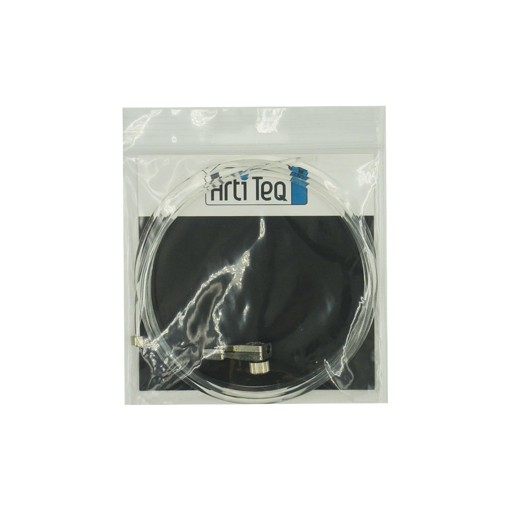 Kit fixation câble perlon Slider et crochet coulissant Mini Hook : charge 4 kg - Artiteq